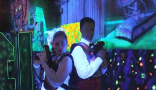 enterrement de vie de célibataire au laser de Pont-à-Mousson