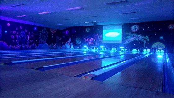 8 pistes de bowling QUBICA AMF